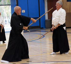 Shindo Muso Ryu Jo at Blackbird Martial Arts – Tucson. AZ @ Ryushinkan Dojo